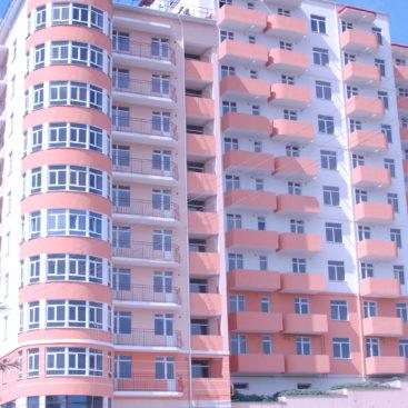 Остекление-комплекса-многоквартирных-домов-Гагарина-52