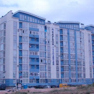Остекление-многоквартирного-дома-Пр-т-Античный-64
